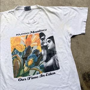 Vintage 10,000 Maniacs Band Shirt Our Time In Eden